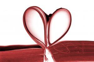 Heart-shaped pages