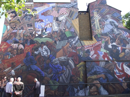 Battle of Cable Street mural