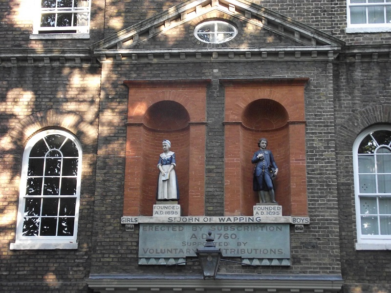 Wapping charity building